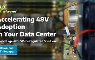 accelerating 48V adoption in your data center