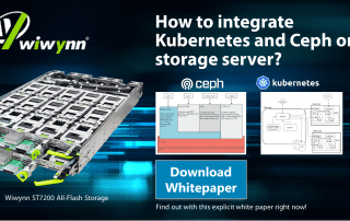 integrate Ceph and Kubernetes on storage server